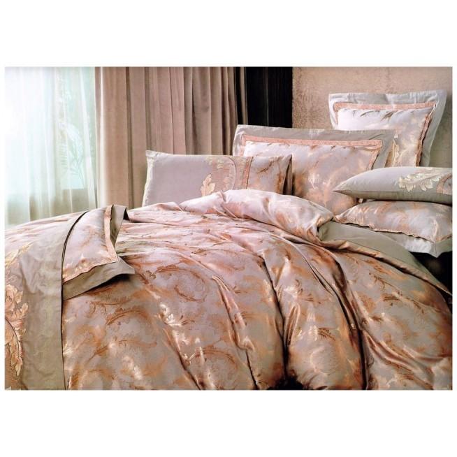 Купить комплект постельного белья Жаккард TJ300-22 евро Tango