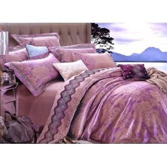 Купить комплект постельного белья Жаккард TJ300-39 евро Tango
