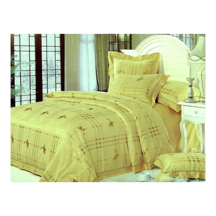 Купить комплект постельного белья Жаккард TJ300-02 евро Tango