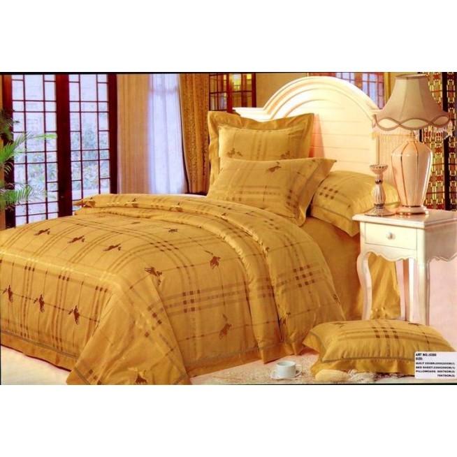 Купить комплект постельного белья Жаккард TJ300-03 евро Tango