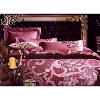 Купить комплект постельного белья Жаккард TJ0400-01 евро Tango