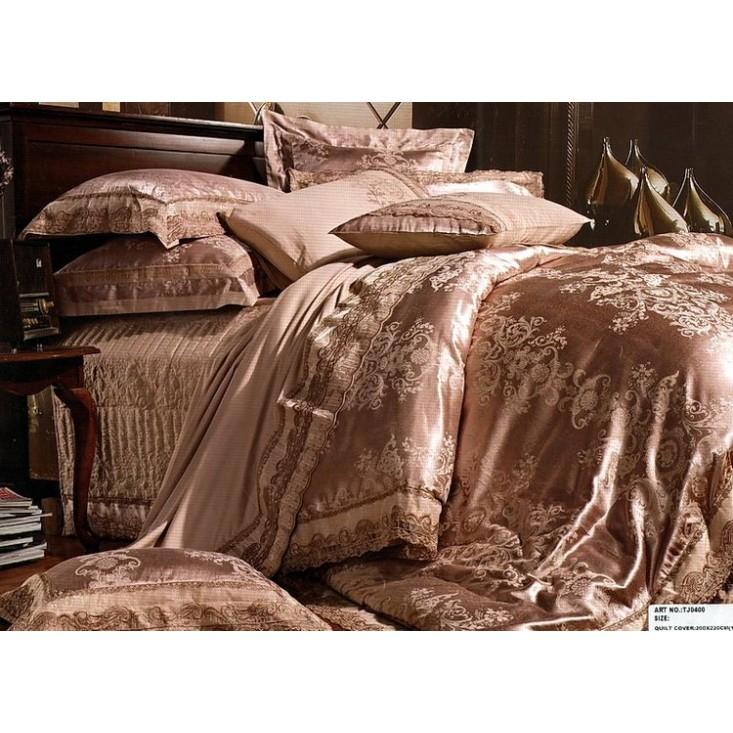 Купить комплект постельного белья Жаккард TJ0400-08 евро Tango