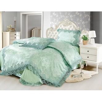 Купить комплект постельного белья Жаккард TJ0600-31 евро Cristelle