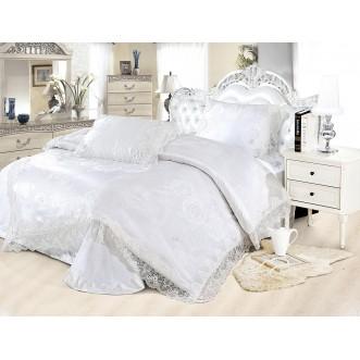 Купить комплект постельного белья Жаккард TJ0600-33 евро Cristelle