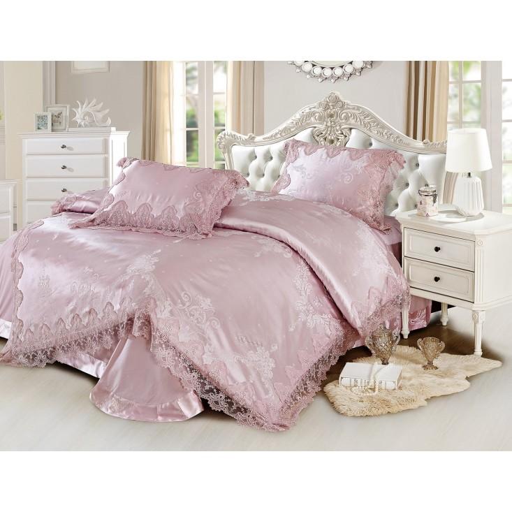 Купить комплект постельного белья Жаккард TJ0600-35 евро Cristelle