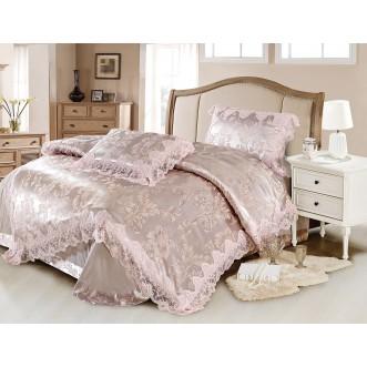 Купить комплект постельного белья Жаккард TJ0600-38 евро Cristelle