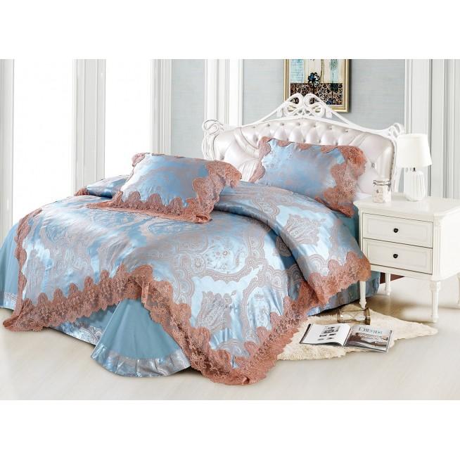 Купить комплект постельного белья Жаккард TJ0600-39 евро Tango
