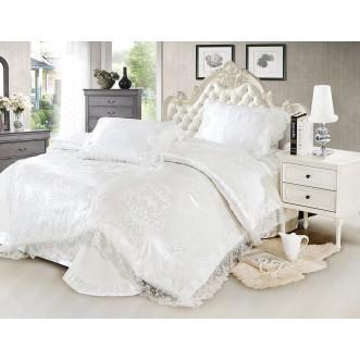 Купить комплект постельного белья Жаккард TJ0600-40 евро Tango