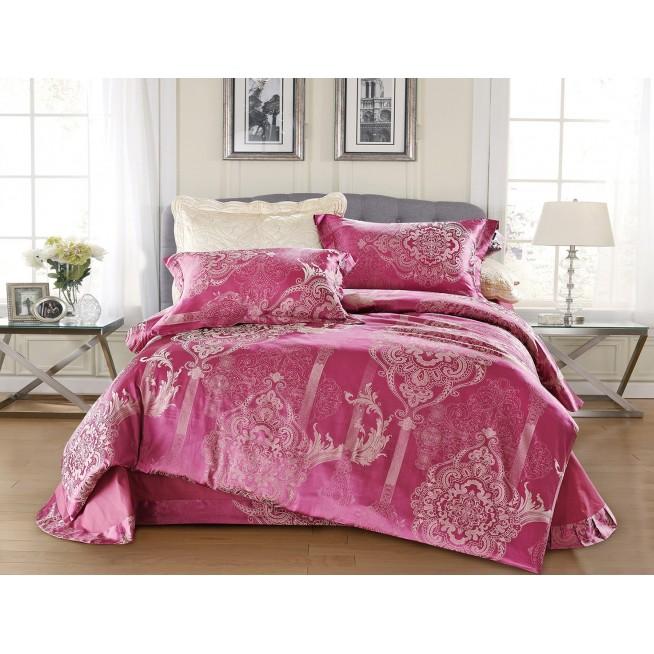 Купить комплект постельного белья Жаккард CJ03-14 евро Cristelle