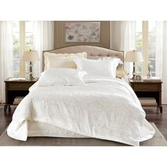 Купить комплект постельного белья Жаккард CJ03-16 евро Cristelle