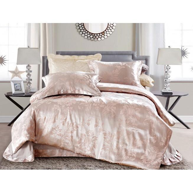 Купить комплект постельного белья Жаккард CJ03-17 евро Cristelle