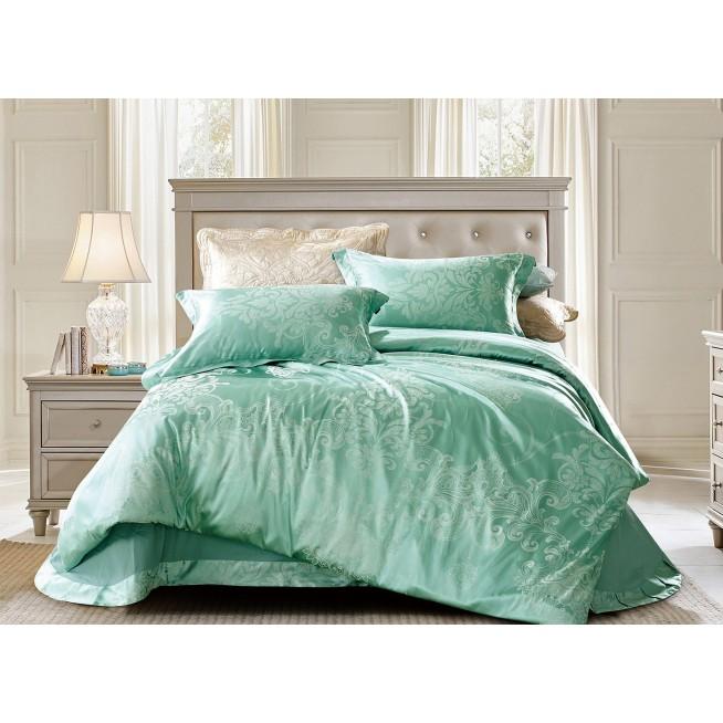 Купить комплект постельного белья Жаккард CJ03-22 евро Cristelle