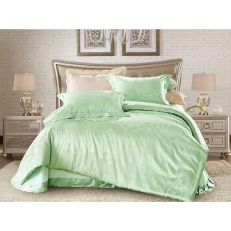 Купить комплект постельного белья Жаккард CJ03-23 евро Cristelle