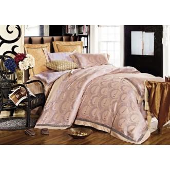 Купить комплект постельного белья Жаккард TJ112-449 семейный «Дуэт» Tango