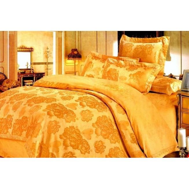 Купить комплект постельного белья Жаккард TJ112-11 семейный «Дуэт» Tango