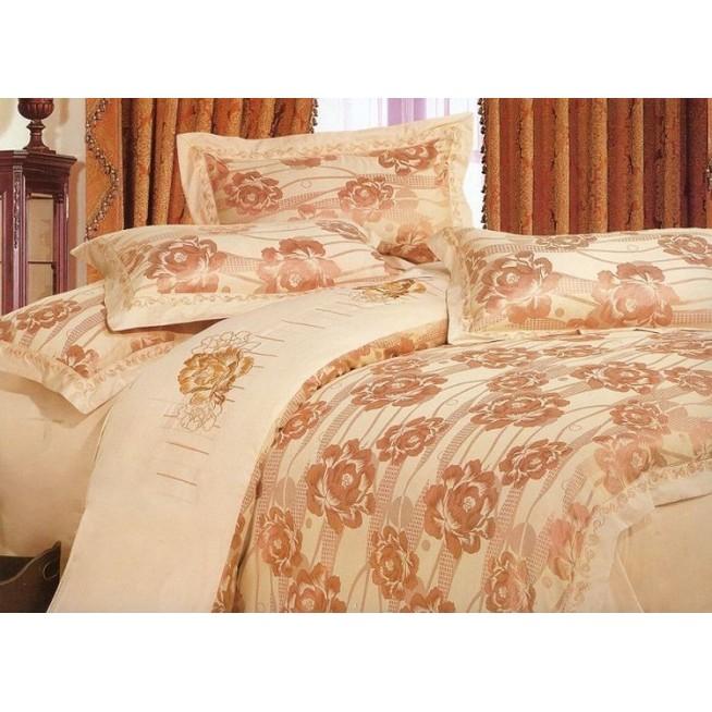 Купить комплект постельного белья Жаккард TJ112-17 семейный «Дуэт» Tango