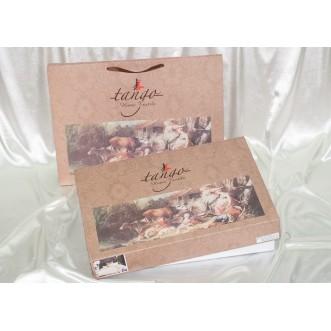 Постельное белье Жаккард TJ112-17 семейный «Дуэт» Tango