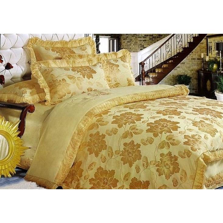 Купить комплект постельного белья Жаккард TJ112-18 семейный «Дуэт» Tango