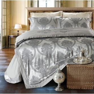 Купить комплект постельного белья Жаккард TJ112-24 семейный «Дуэт» Cristelle