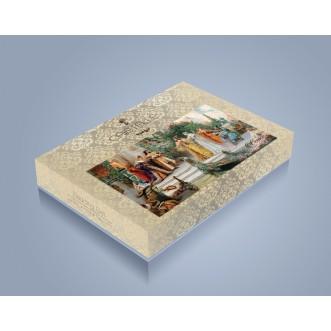 Постельное белье Жаккард TJ112-22 семейный «Дуэт» Cristelle
