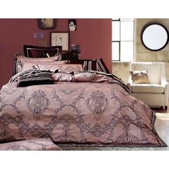 Купить комплект постельного белья Жаккард TJ112-498 семейный «Дуэт» Tango