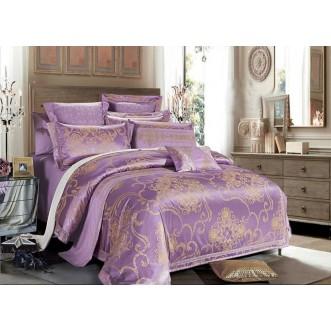 Купить комплект постельного белья Жаккард TJ112-436 семейный «Дуэт» Tango
