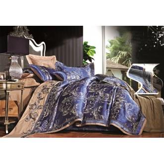 Купить комплект постельного белья Жаккард TJ112-441 семейный «Дуэт» Tango
