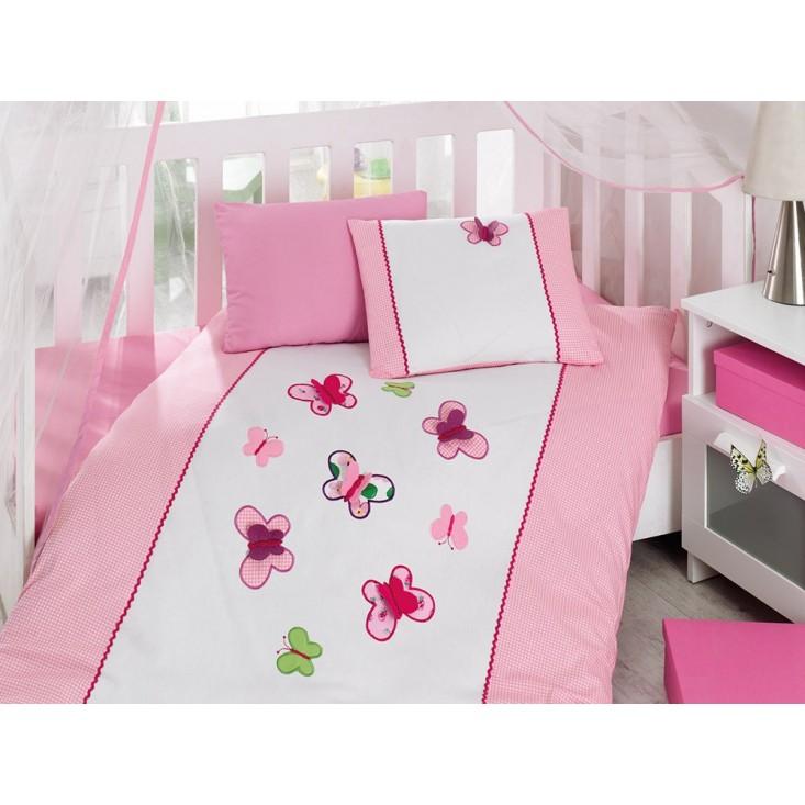 Детское постельное белье 1007-06 Аппликация в кроватку Cotton Box