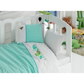 Детское постельное белье 1007-01 Аппликация в кроватку Cotton Box