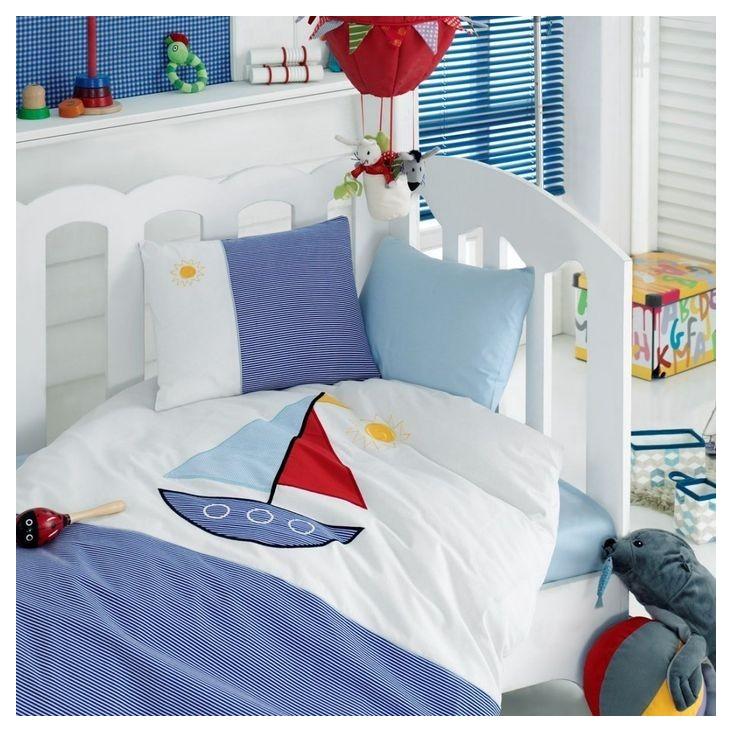 Детское постельное белье 1007-03 Аппликация в кроватку Cotton Box