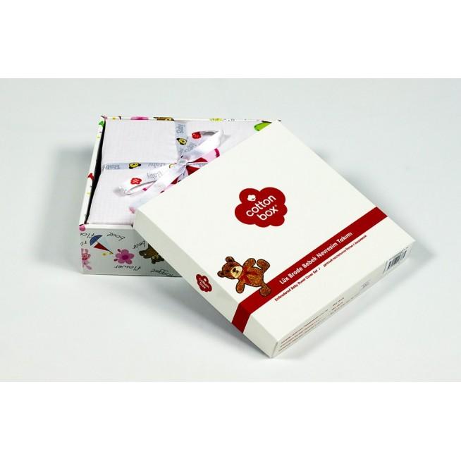 Постельное белье детское 1007-03 Аппликация в кроватку Cotton Box