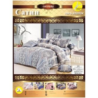Белье постельное сатин C217 семейное СИТРЕЙД