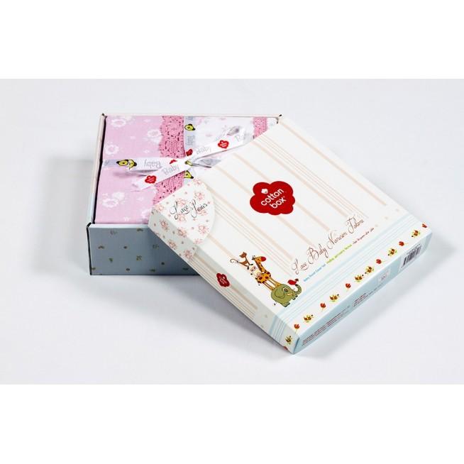Постельное белье детское 1041-04 с вышивкой в кроватку Cotton Box