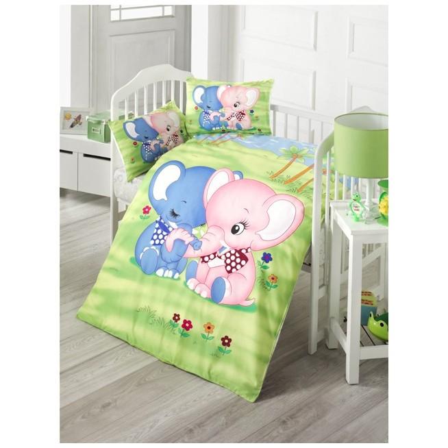 Детское постельное белье Elephant в кроватку Victoria