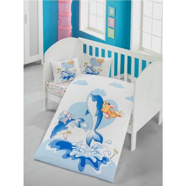 Детское постельное белье Ocean в кроватку Victoria