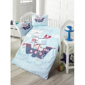 Детское постельное белье Ship в кроватку Victoria