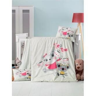 Детское постельное белье Tea Time в кроватку Victoria