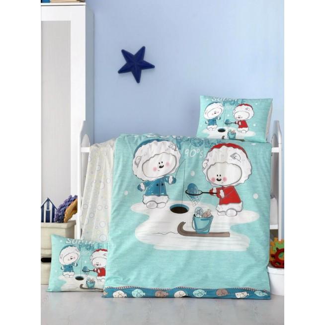 Детское постельное белье South Polee в кроватку Victoria
