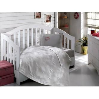 Детское постельное белье Hello Kitty 2300-01 в кроватку Virginia Secret