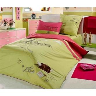 Купить детское постельное белье Париже 1.5 спальное Gorilla