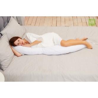 Купить наволочку Нежно белая для подушки бумеранг I 170 Mama Relax в магазине Lux Postel