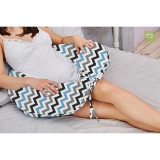 Наволочка Зигзаги нежные для подушки бумеранг I 170 Mama Relax