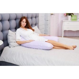 Купить наволочку для подушки U280 Mama Relax Сиреневая в магазине Lux Postel