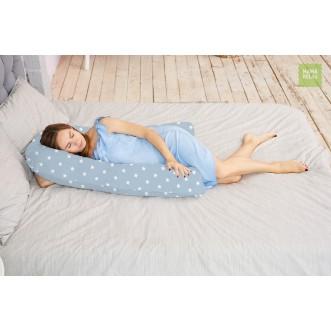 Купить наволочку для подушки U280 Mama Relax Звездочки серые в магазине Lux Postel