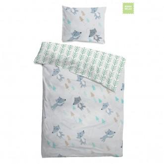 Купить постельное белье Лисички в лесу Mama Relax в магазине Lux Postel