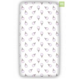 Купить простынь на резинке Розовое мороженное Mama Relax в магазине Lux Postel