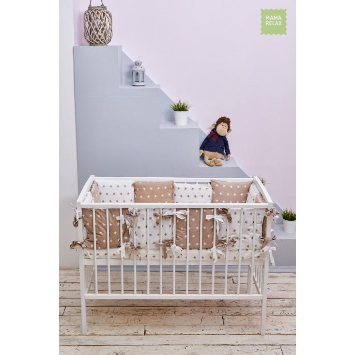 Купить бортики в кроватку 12 шт Mama Relax Доброе утро в магазине Lux Postel