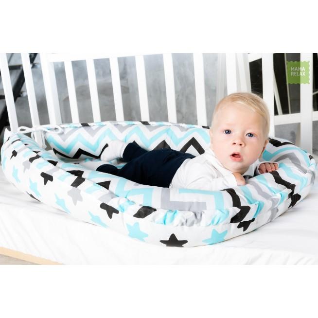 Купить гнездышко для новорожденного Нежные сны Mama Relax в магазине Lux Postel
