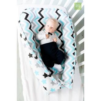 Гнездышко для новорожденного Нежные сны Mama Relax