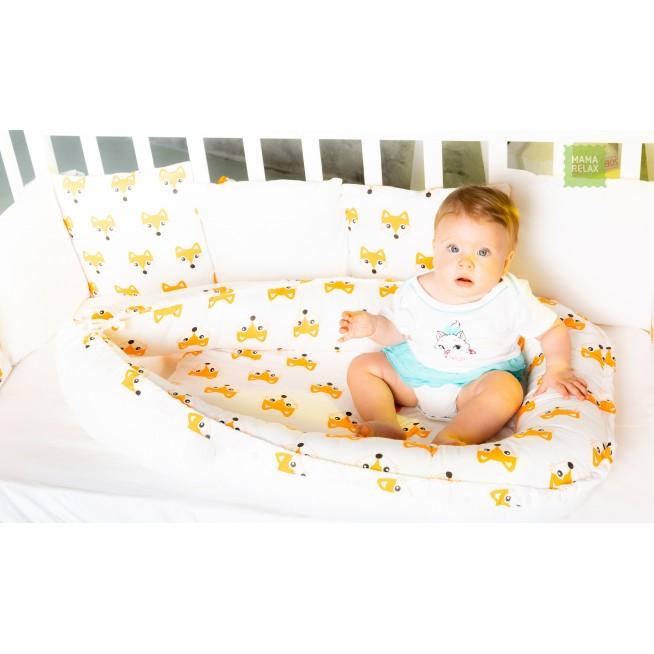 Купить гнездышко для новорожденного Лисички Mama Relax  в магазине Lux Postel